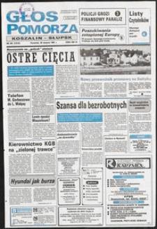 Głos Pomorza, 1991, sierpień, nr 201