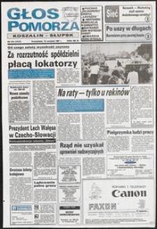 Głos Pomorza, 1991, wrzesień, nr 216
