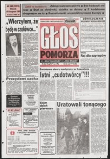 Głos Pomorza, 1991, listopad, nr 269