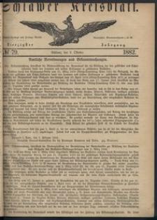 Kreisblatt des Schlawer Kreises 1882 No 79