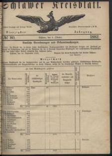 Kreisblatt des Schlawer Kreises 1882 No 80