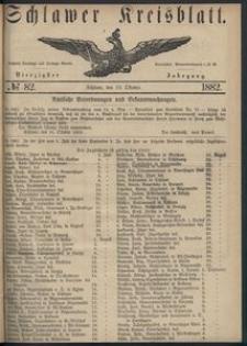 Kreisblatt des Schlawer Kreises 1882 No 82