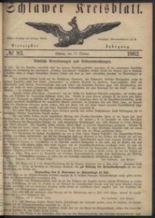 Kreisblatt des Schlawer Kreises 1882 No 83