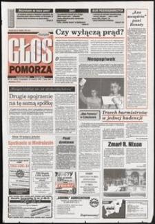 Głos Pomorza, 1994, kwiecień, nr 95