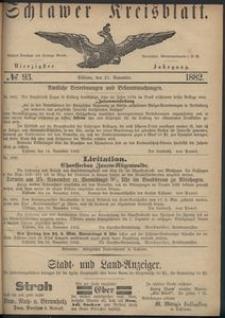 Kreisblatt des Schlawer Kreises 1882 No 93