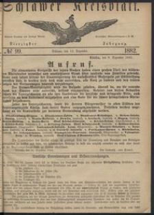 Kreisblatt des Schlawer Kreises 1882 No 99