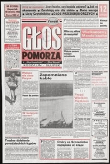 Głos Pomorza, 1992, kwiecień, nr 91