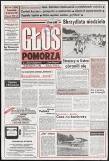 Głos Pomorza, 1992, czerwiec, nr 144