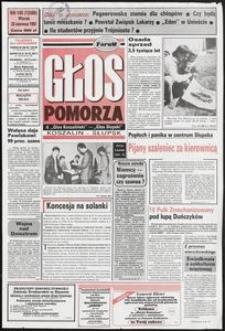Głos Pomorza, 1992, czerwiec, nr 145