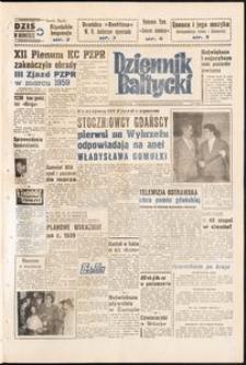 Dziennik Bałtycki, 1958, nr 249