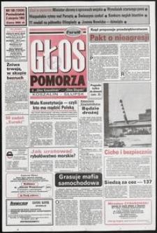 Głos Pomorza, 1992, sierpień, nr 180