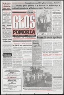 Głos Pomorza, 1992, sierpień, nr 183