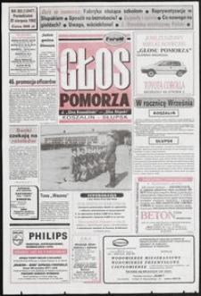 Głos Pomorza, 1992, sierpień, nr 203