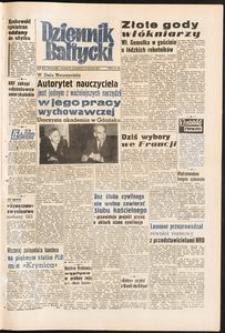 Dziennik Bałtycki, 1958, nr 279