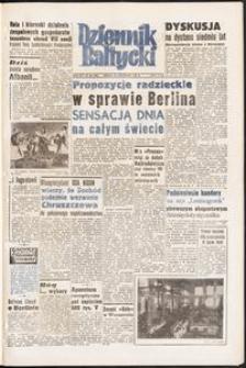 Dziennik Bałtycki, 1958, nr 284