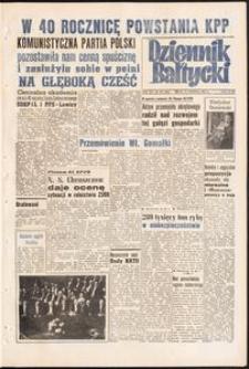Dziennik Bałtycki, 1958, nr 299