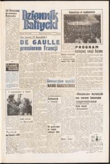 Dziennik Bałtycki, 1958, nr 130