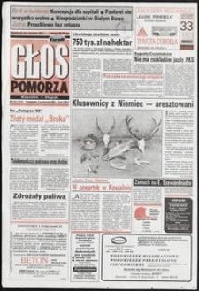 Głos Pomorza, 1992, październik, nr 233