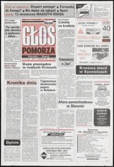 Głos Pomorza, 1992, październik, nr 240