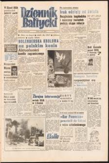 Dziennik Bałtycki, 1958, nr 167