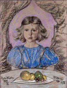Portrait Izabela Zborowski's