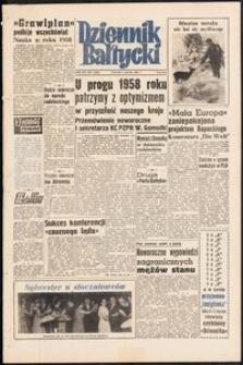 Dziennik Bałtycki, 1958, nr 1
