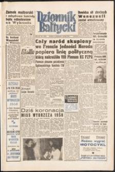 Dziennik Bałtycki, 1958, nr 4