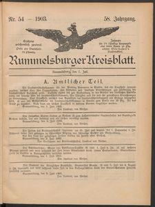 Rummelsburger Kreisblatt 1903 No 54