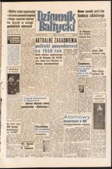 Dziennik Bałtycki, 1958, nr 50