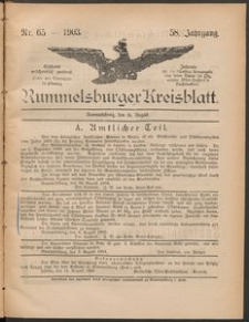 Rummelsburger Kreisblatt 1903 No 65