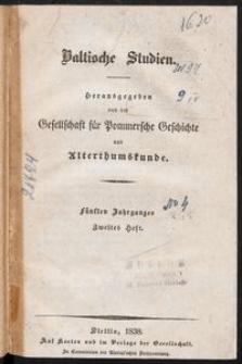 Baltische Studien [Z. 2]