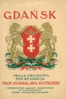 Gdańsk : przeszłość i teraźniejszość : praca zbiorowa