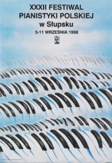 [Plakat] : XXIX Festiwal Pianistyki Polskiej w Słupsku