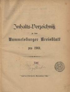 Rummelsburger Kreisblatt 1901