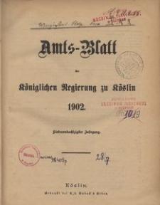Amts-Blatt der Königlichen Regierung zu Cöslin 1902