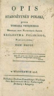 Opis starożytney Polski. T. 2