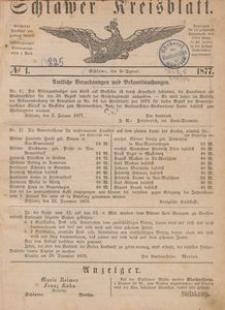 Kreisblatt des Schlawer Kreises 1877