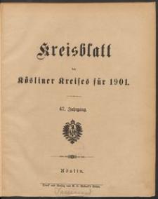 Kreisblatt des Kösliner Kreises 1901