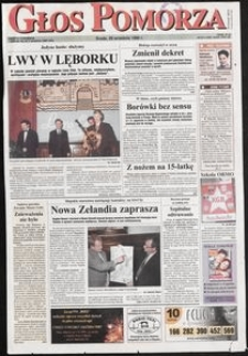 Głos Pomorza, 1999, wrzesień, nr 227