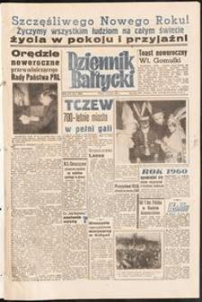 Dziennik Bałtycki, 1960, nr 2