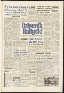 Dziennik Bałtycki, 1960, nr 254