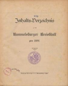 Rummelsburger Kreisblatt 1909
