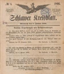 Kreisblatt des Schlawer Kreises 1866
