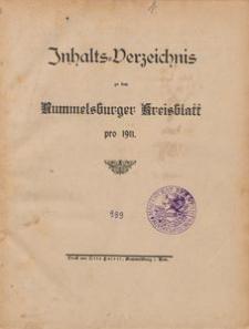 Rummelsburger Kreisblatt 1911