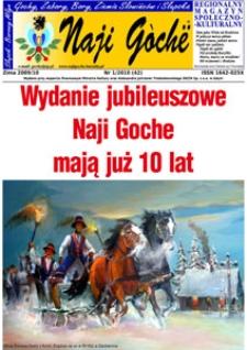 Naji Gochë : regionalny magazyn społeczno-kulturalny, 2010, nr 1
