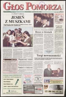 Głos Pomorza, 1999, październik, nr 231