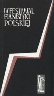Festiwal Pianistyki Polskiej (4 ; 1970 ; Słupsk)