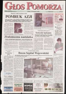 Głos Pomorza, 1999, listopad, nr 267
