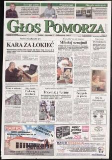 Głos Pomorza, 1999, listopad, nr 276