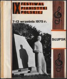 Kronika : 9 Festiwal Pianistyki Polskiej